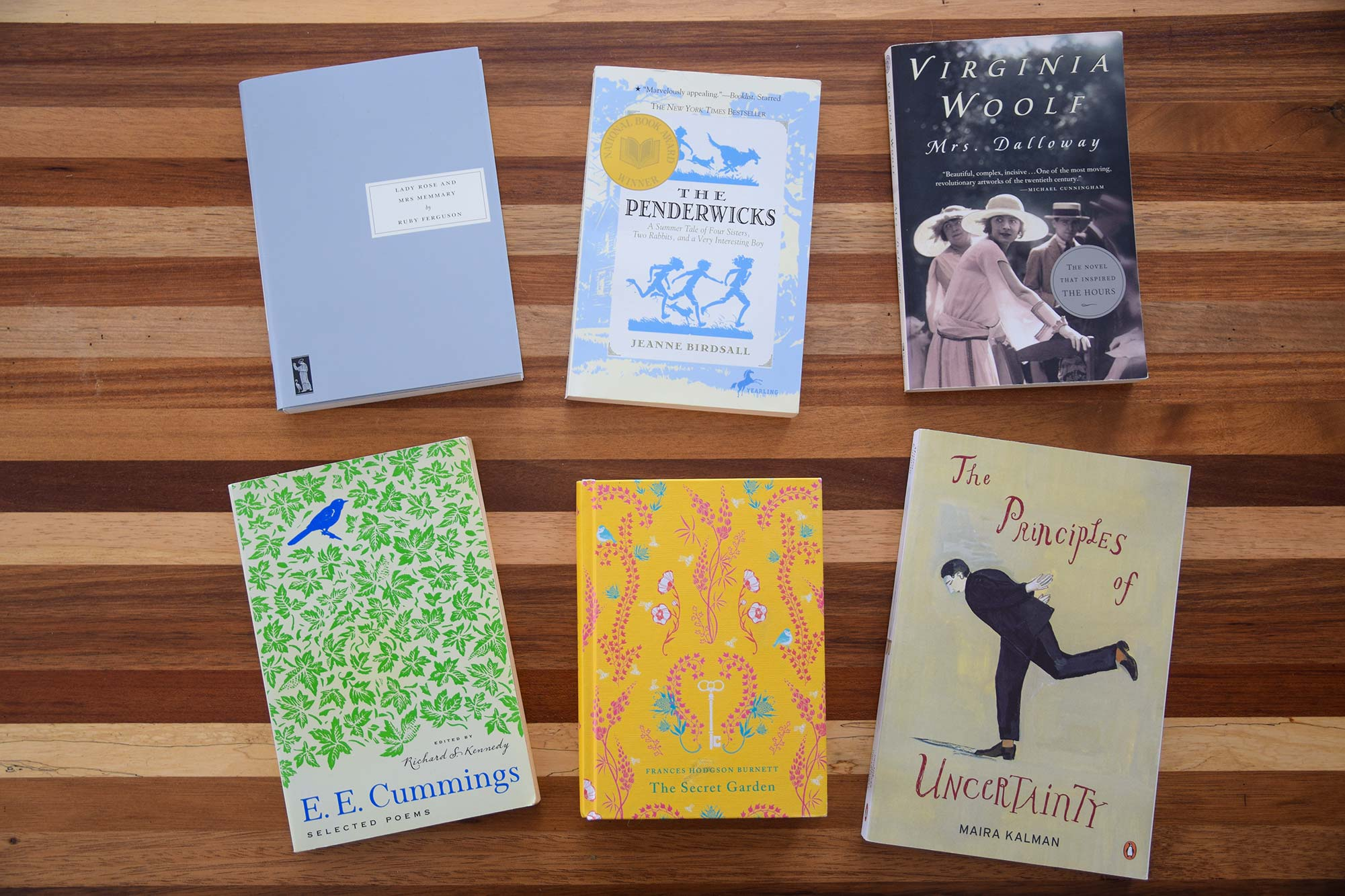 Six Books That Shine in Spring