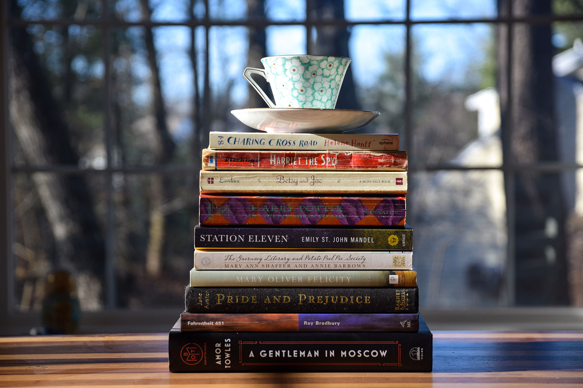 My Book Stack Me Challenge