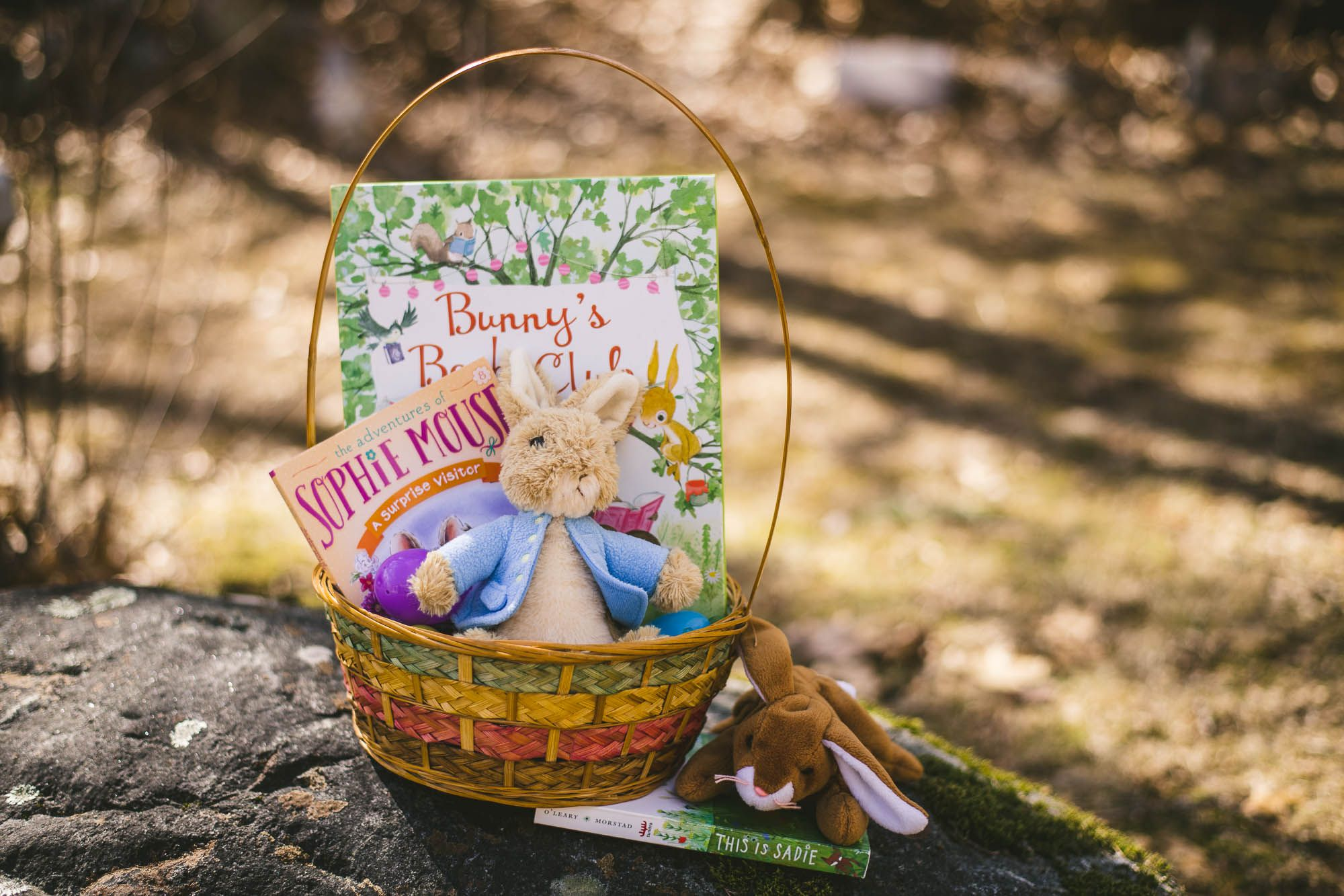 Kids' Easter Basket Ideas and Bits of Sunshine For You, Too